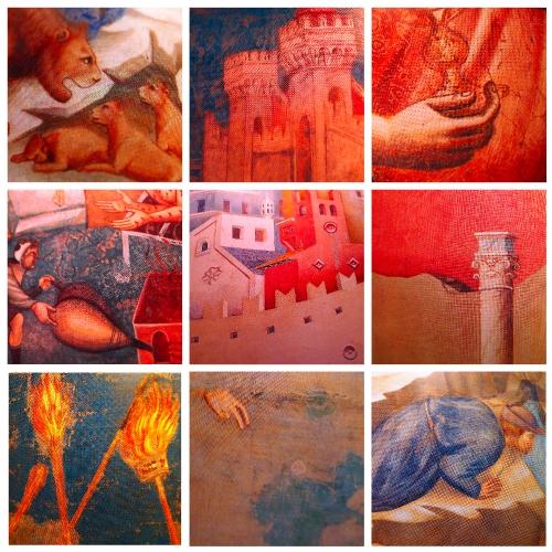fresques italiennes du temps de Giotto