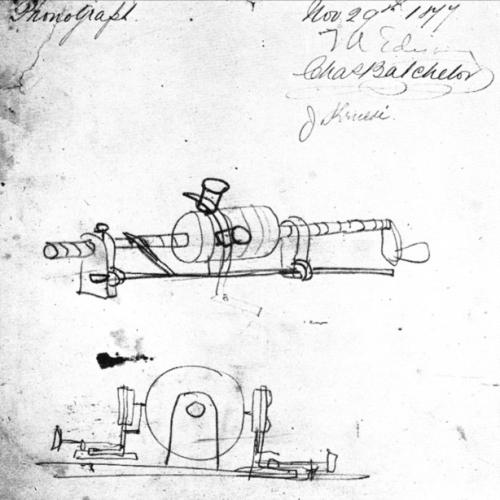 Edison, phonograph, 1877