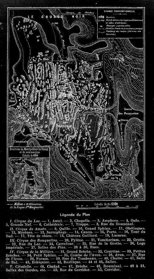 Chaos de Montpellier-le-Vieux, Millau, teknival, 1994