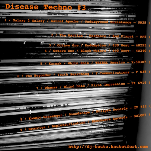 detroit music,disease techno #3
